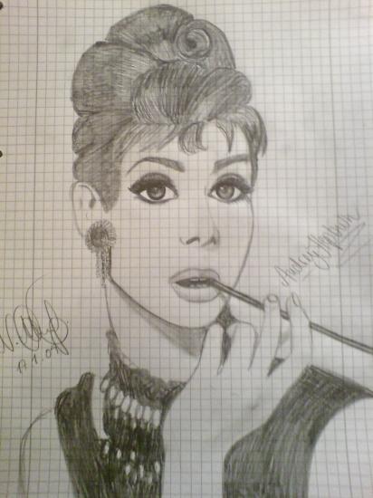 Audrey Hepburn par GiveAchill